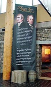 Lewis & Clark Exhibit Banner