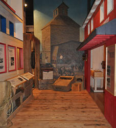 Street Replica from Historical The Dalles Oregon