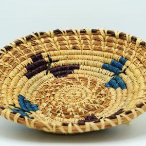 Handwoven Pine Needle Basket (plate)