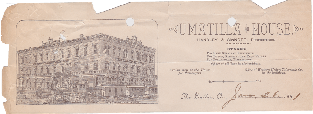 Umatilla House The Dalles, Oregon