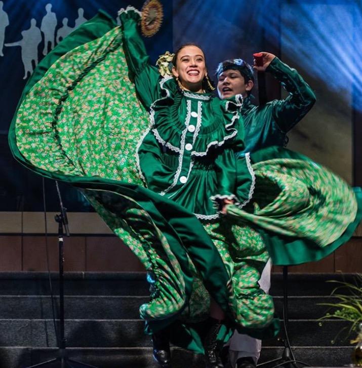 Folklorico The Dalles Ballet Papalotl